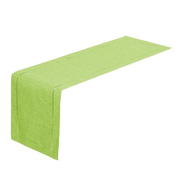 Limezöld asztali futó, 150 x 41 cm - Unimasa