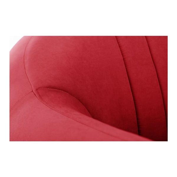 Fotoliu Comete Stripes, roșu