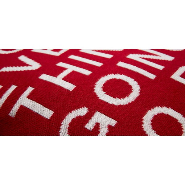 Polštář Narak Red, 45x45 cm
