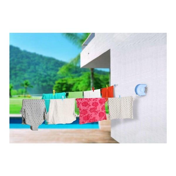Set šňůry na prádlo a kolíčků Delight Blue