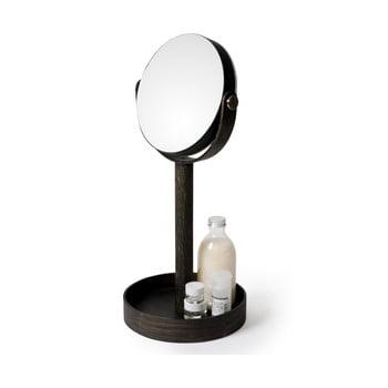 Oglindă de masă, cu tăviță, Wireworks Magnify Dark de la Wireworks