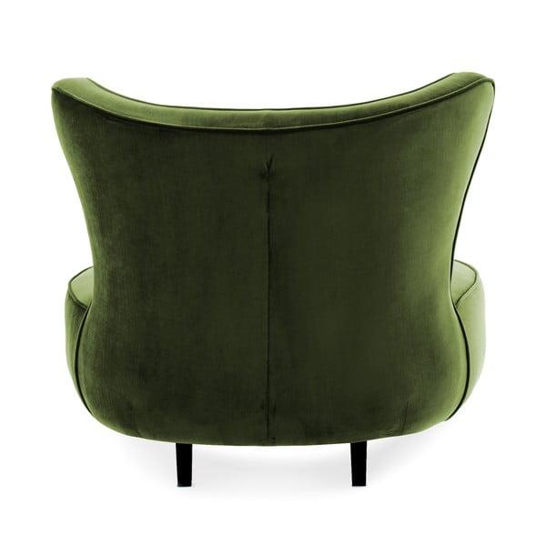 Olivově zelené křeslo Vivonita Douglas Love