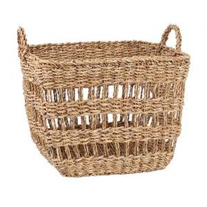 Úložný košík z mořské trávy Slowdeco Sea, vel. L