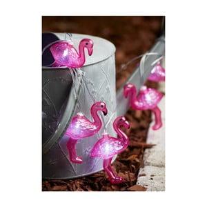Decoraţiune luminoasă solară LED Best Season Funlight Flamingos
