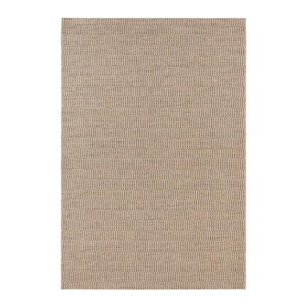 Hnědý koberec vhodný i na ven Elle Decor Brave Dreux, 80 x 150 cm