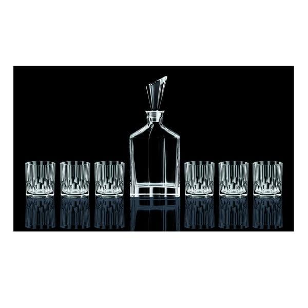 Zestaw karafki i 6 szklanek do whisky Nachtmann Aspen