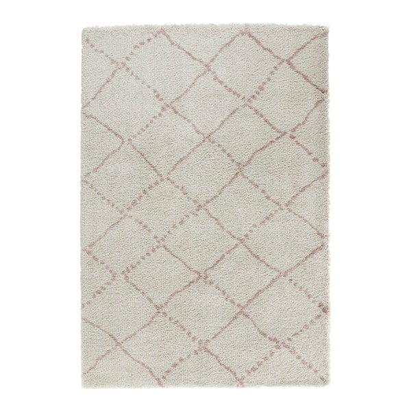Krémovo-ružový koberec Mint Rugs Allure Ronno Creme Rose, 200 x 290 cm
