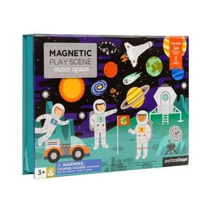 Magnetická skládačka Petit collage Space