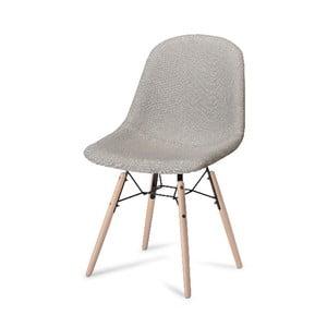 Šedá jídelní židle s nohami z bukového dřeva Furnhouse Sun