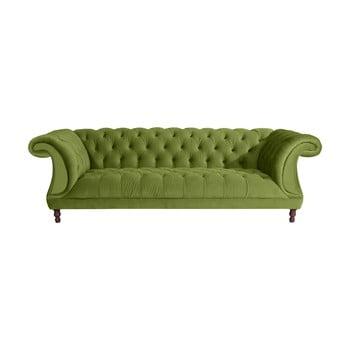 Canapea cu 3 locuri Max Winzer Ivette verde oliv