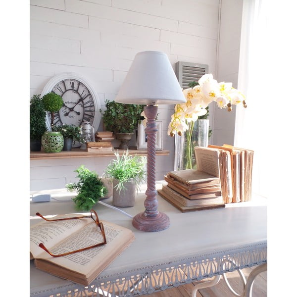 Stolní lampa Rusty Blue, 19x45 cm