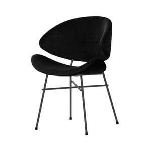 Černá židle s černými nohami Iker Cheri