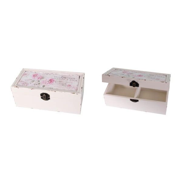 Box Antic Line Romantique, 20x10 cm