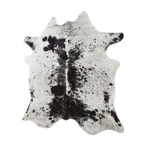 Bílo-hnědý koberec z hovězí kůže Kare Design Hide