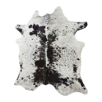 Covor din piele de vacă Kare Design Hide, alb-maro de la Kare Design