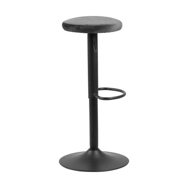 Barová židle s šedým polstrováním Actona Finch