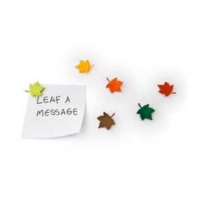 Magnety Leaf a message, 6 ks