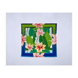 Módní šátek Madre Selva Tropical Garden, 55x55cm