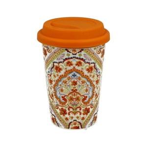 Porcelánový cestovní hrnek se silikonovým víčkem Duo Goft Espania
