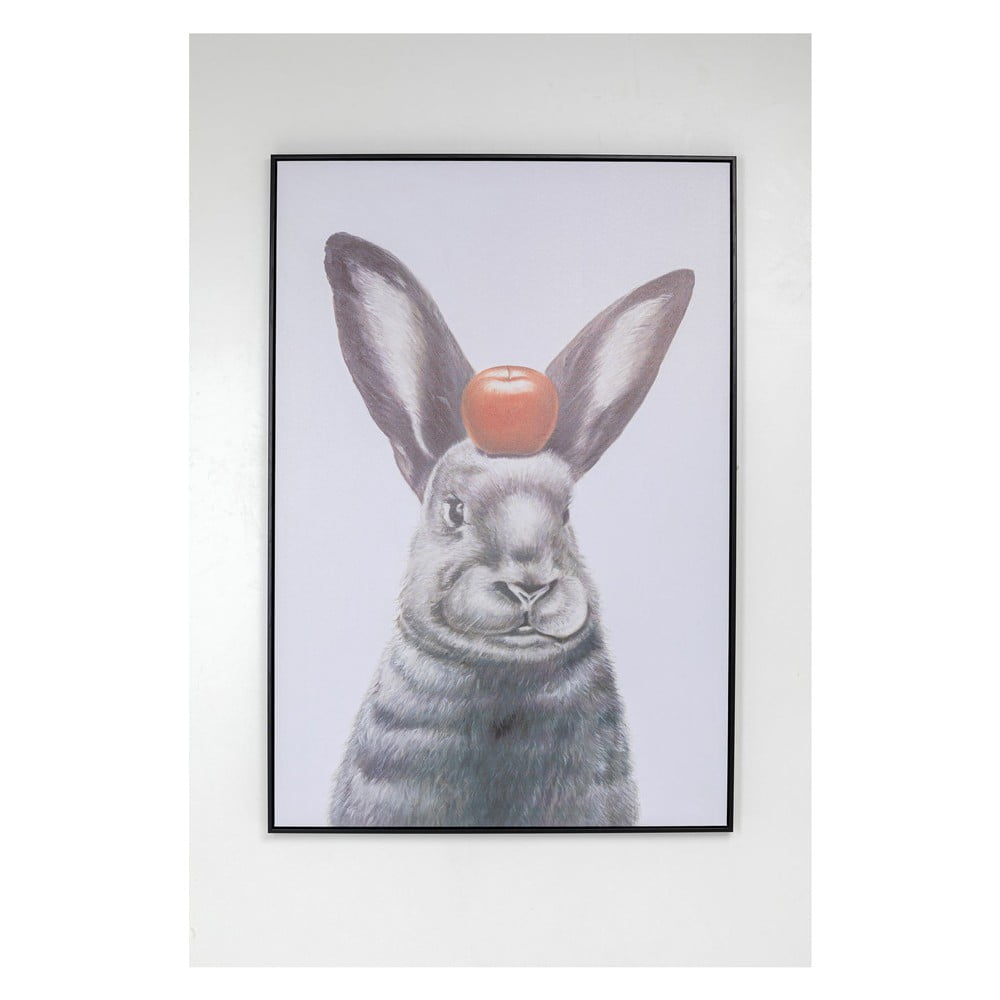 Obraz v rámu Kare Design Apple on A Bunny 80 x 120 cm