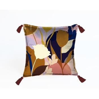 Pernă cu husă din catifea Velvet Atelier Borlas,45x45cm