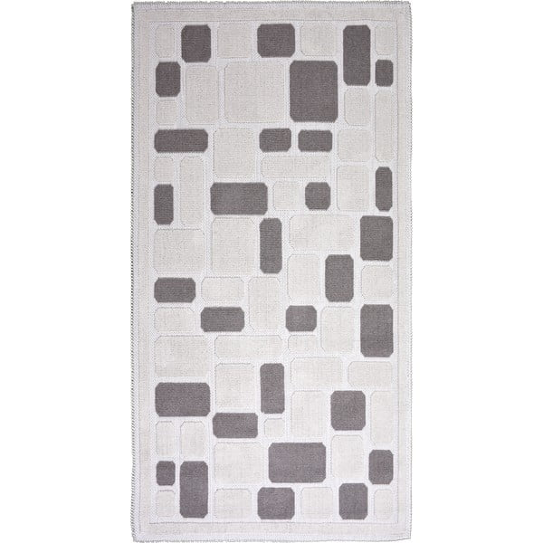 Beżowy bawełniany dywan Vitaus Mozaik, 100x150 cm