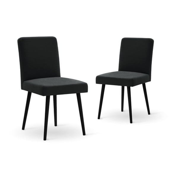 Set canapea gri deschis, 2 scaune negre, o saltea 140 x 200 cm Home Essentials