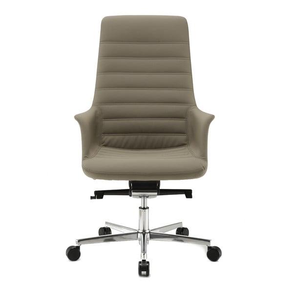 Šedá kancelářská židle s kolečky Zago Vetta
