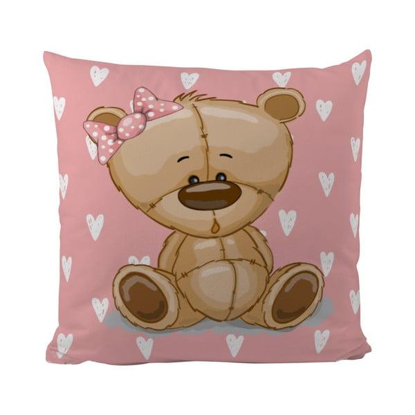 Polštář Teddy Little Lady, 50x50 cm