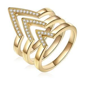 Trojitý prsten Ines Cavalera Martha, vel. 52