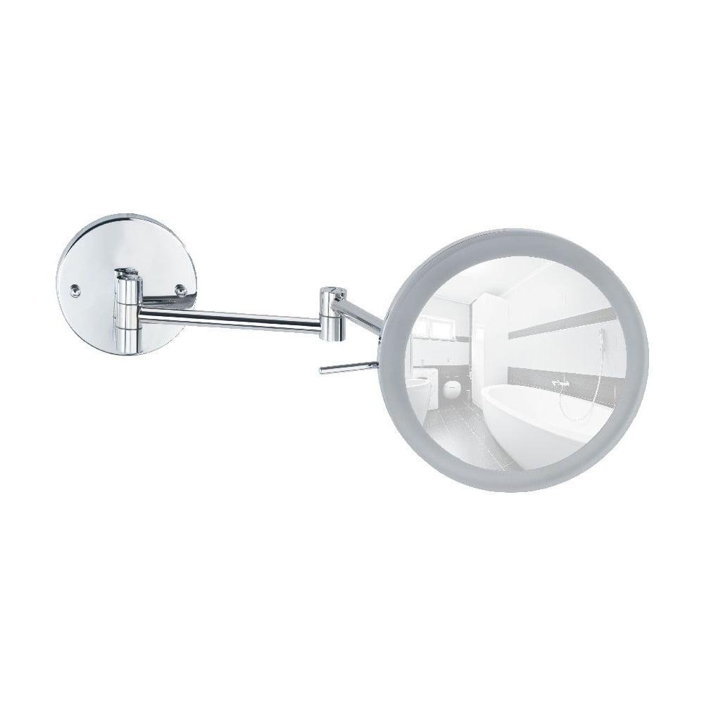 Nástěnné zvětšovací zrcadlo s LED osvětlením Wenko Aura