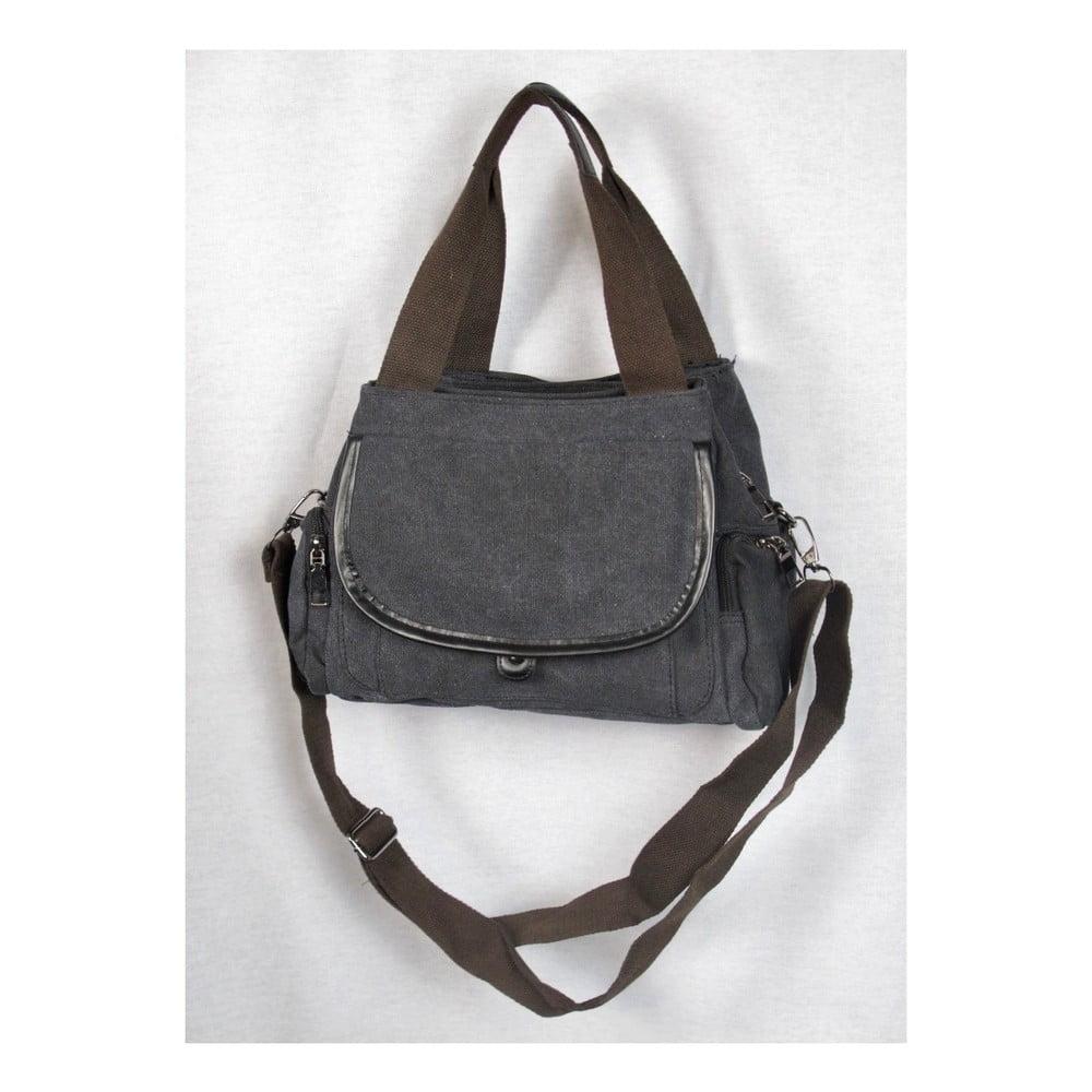 Černá plátěná taška Sorela Zahra