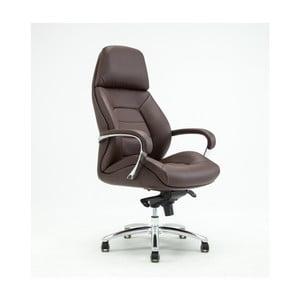 Hnědá otočná kancelářská židle RGE Sport