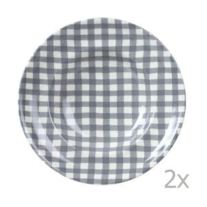 Sada 2 talířů na těstoviny Livia 30.5 cm, šedý