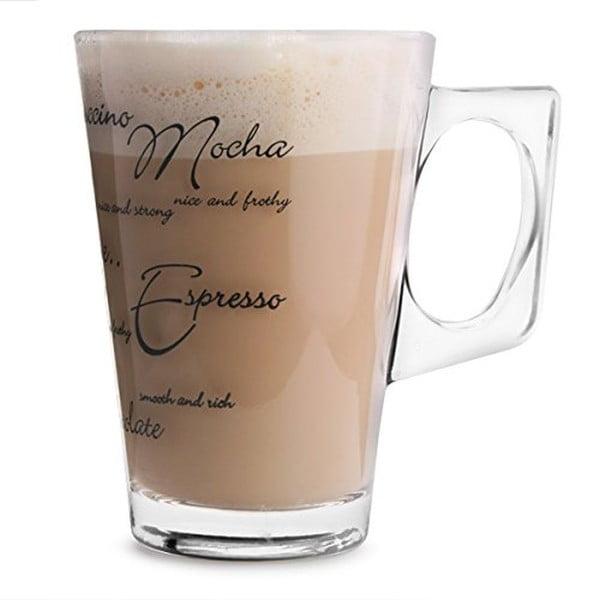 Sada 2 sklenic Script Latte, 240ml