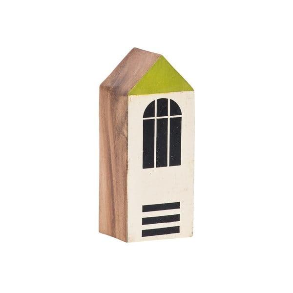 Dřevěný dekorativní domek Vox Budynek, výška15cm
