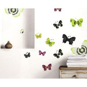Samolepka na zeď Butterflies