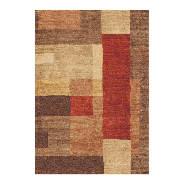 Hnědý koberec Universal Delta, 67 x 250 cm