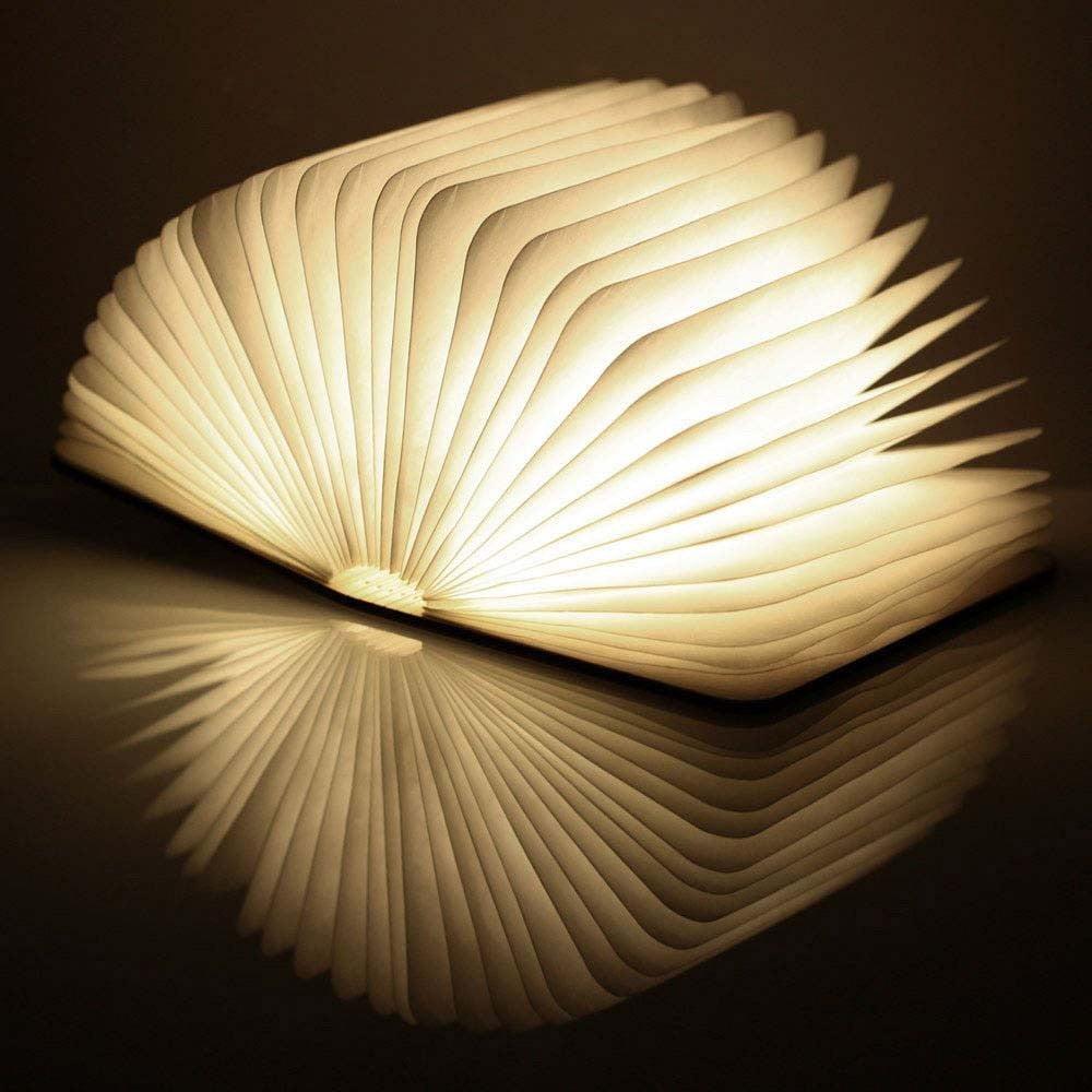LED stolní lampa ve tvaru knihy Gingko Smart Book Mini