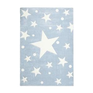 Modrý dětský koberec Happy Rugs Star Constellation, 80x150cm