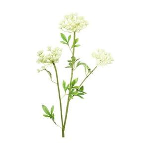 Umělá květina s bílými květy Ixia Lace, výška97cm
