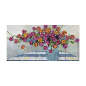 Obraz Marmont Hill Vase Overflow, 61x30cm