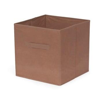 Cutie pliabilă de depozitare Compactor Cardboard Box, maro