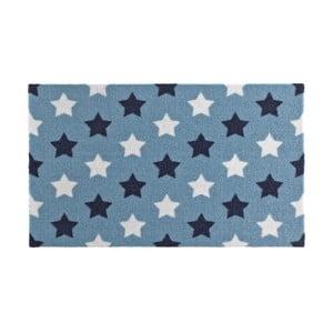 Modrá rohožka Zala Living Design Blue Retro, 50x70cm