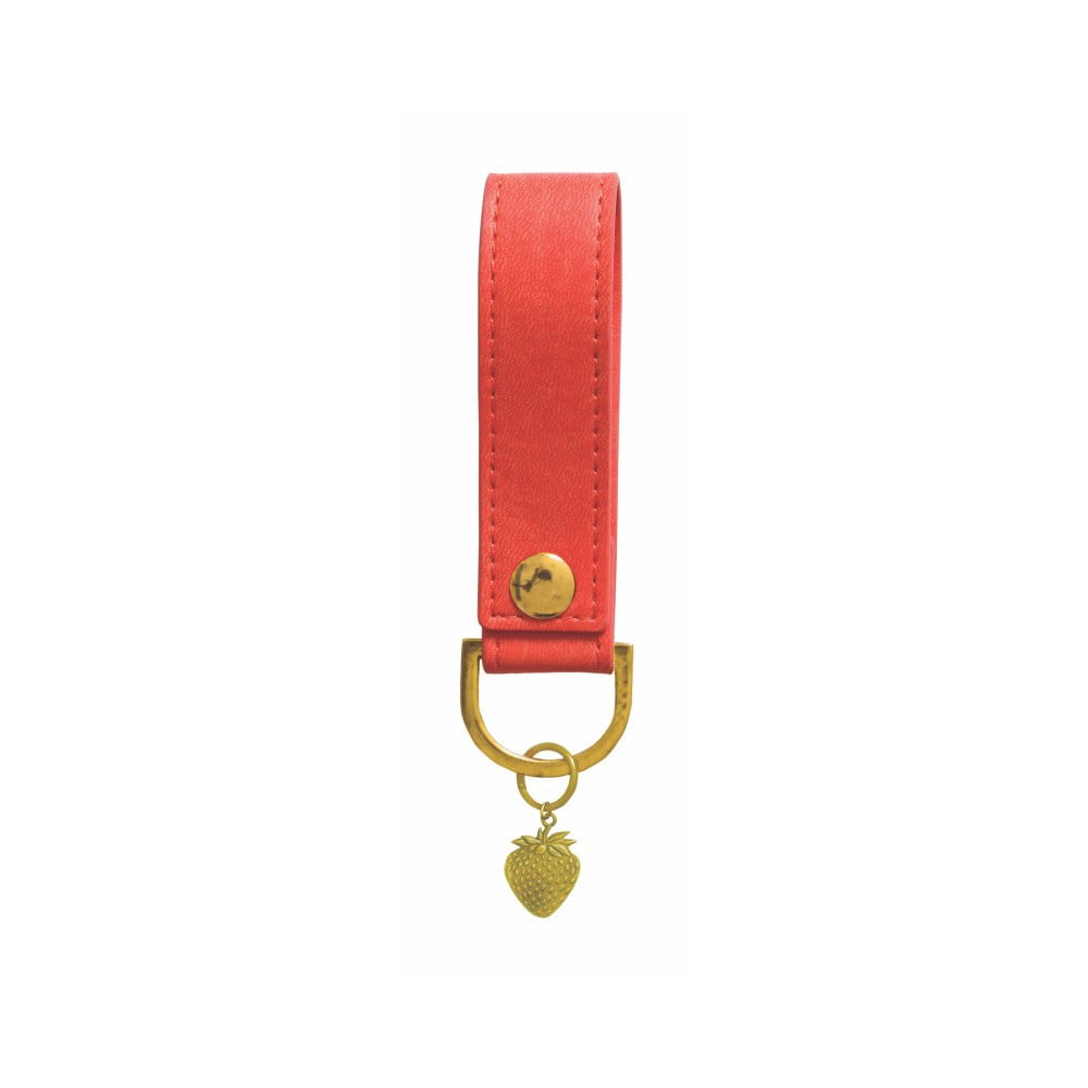 Červená klíčenka Portico Designs