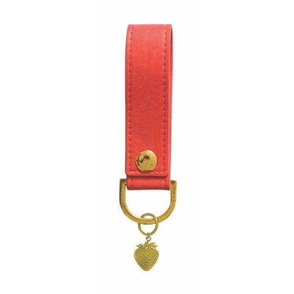 Czerwony brelok Portico Designs