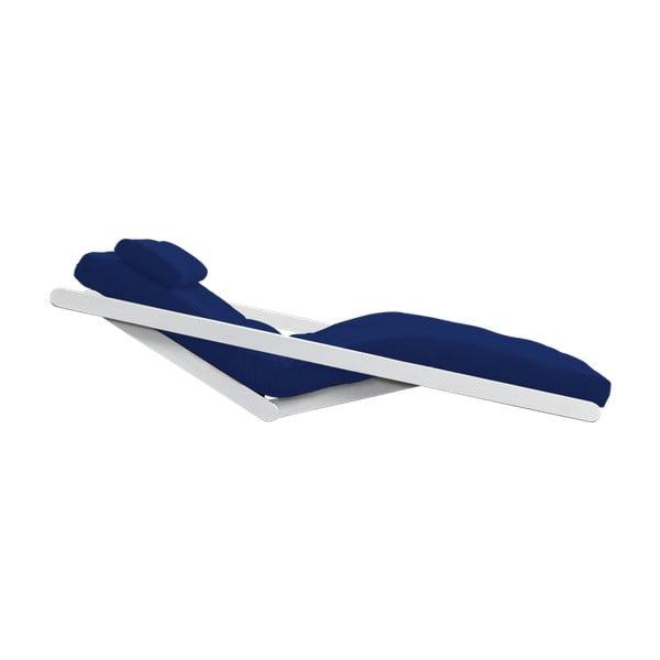 Dvoumístná variabilní lenoška Karup Figo White/Royal