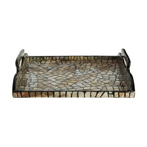 Podnos s lasturovými detaily Premier Housewares Crackle Mosaic
