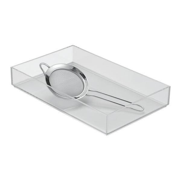 Organizator pentru bucătărie InterDesign Clarity, 8 x 12 cm