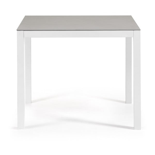 Bílý stůl La Forma Bogen,90x90cm